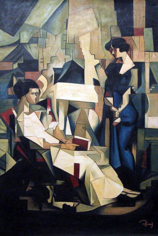 Diego Rivera - Duas Mulheres